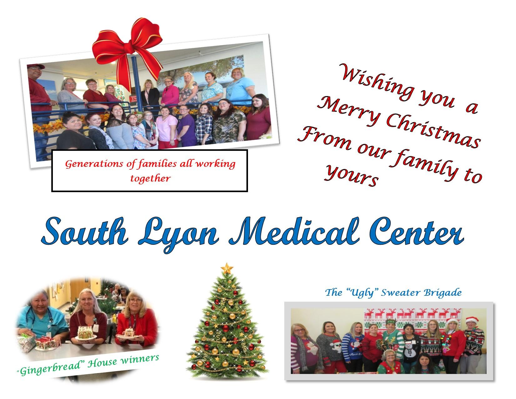 Merry Christmas 2017 – South Lyon Medical Center
