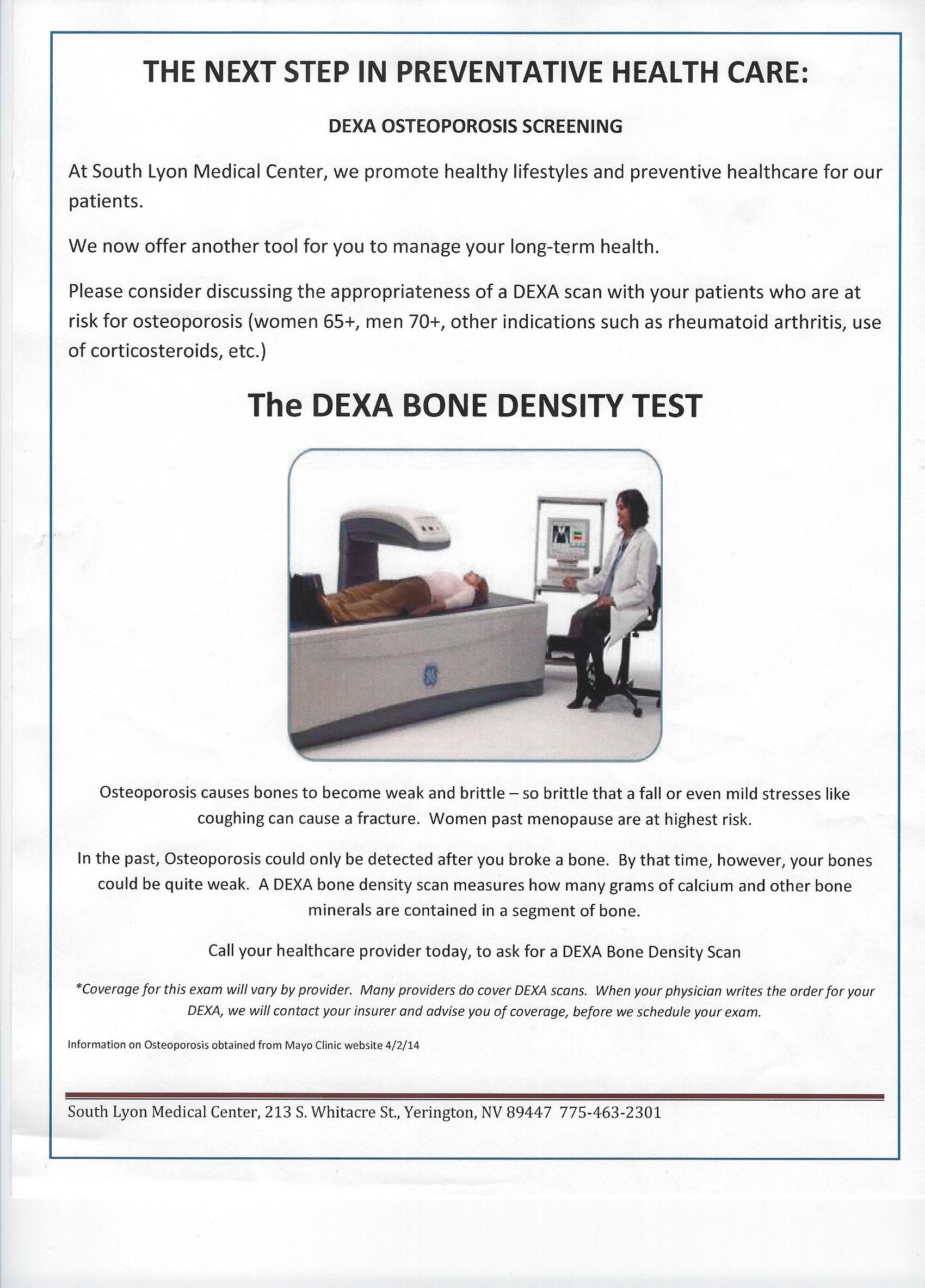 DEXA 001