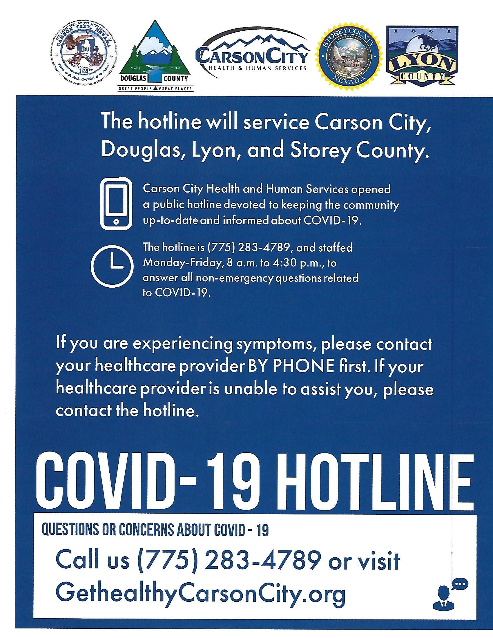 covid19 hotline