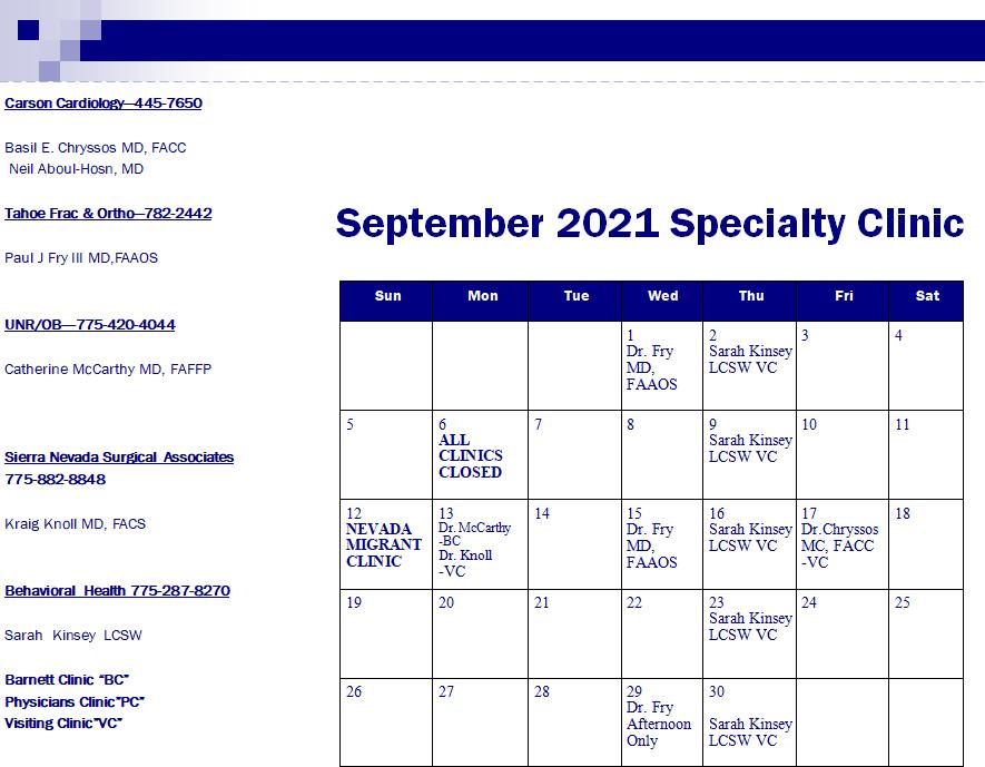SeptSpecialClinic